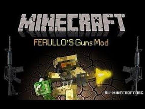 Ferullo's Guns Mod (1.6.4) - minecraft-mods.ru