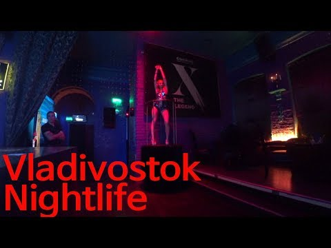 Russia Vladivostok Nightlife - Cuckoo, Rock Bar,Selfie,Salon Club  Part1 (러시아 블라디보스톡 밤문화 클럽)