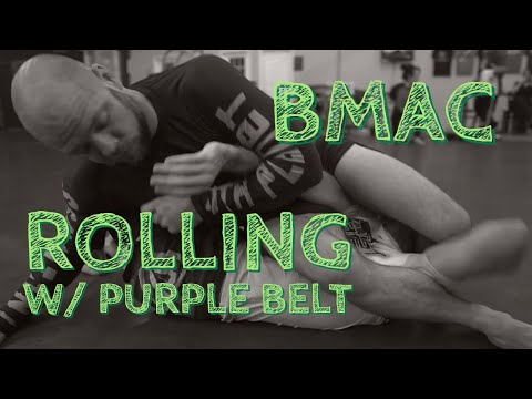 bmac Rolling w/ Purple Belt - 10th Planet Jiu Jitsu
