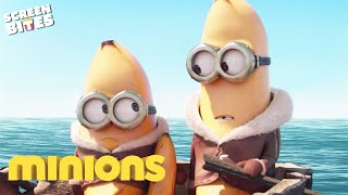 Bananas At Sea | Minions | SceneScreen