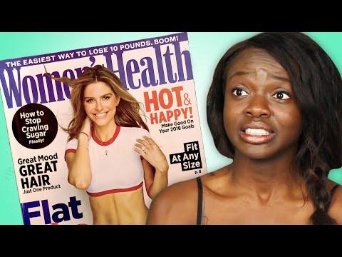 We Followed Health Magazine Advice For A Week