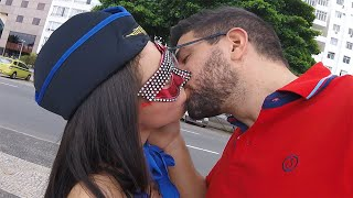 Download Video Kissing Prank - CARNAVAL EDITION (GONE SEXUAL) MP3 3GP MP4