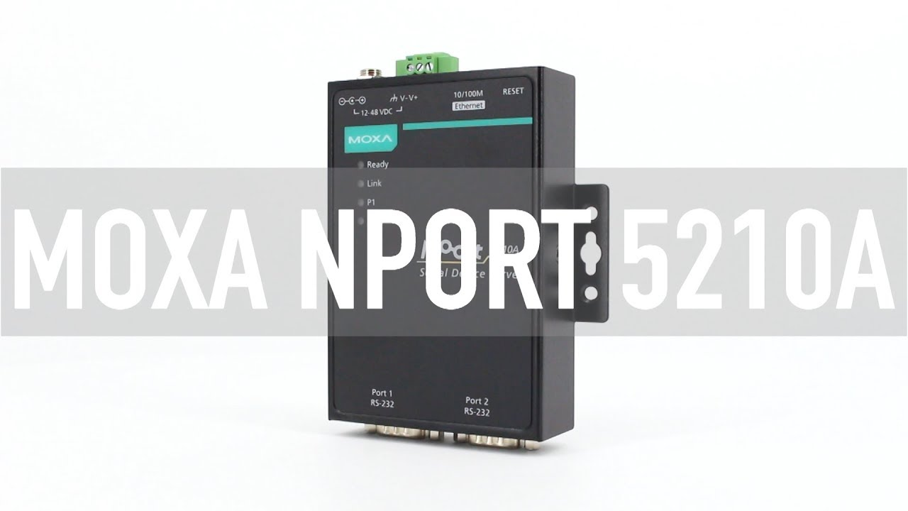 Moxa NPORT5210A - Express Systems & Peripherals