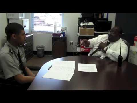 Cadet Christian Moorer Interviews Mr. Anderson Townsend