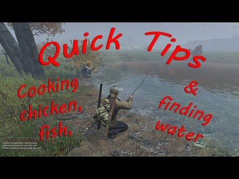 Quick Tips for the Beginner in DayZ SA .60 - Fishing, Cooking, and Finding Water