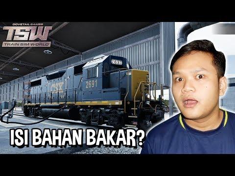 Kereta Isi Bensin? Dan Kereta Batu Bara - Train Sim World Indonesia