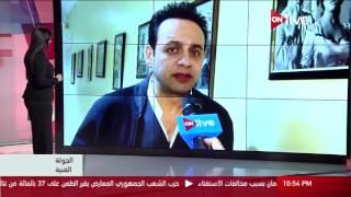 بالفيديو  مصطفى قمر: كنت أتمنى أن أعمل مذيعا.. وسعيد بـ