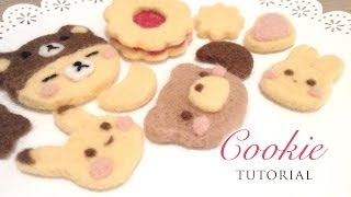 Easy Needlefelt Cookies - Sweetorials Audition, Watch in HD