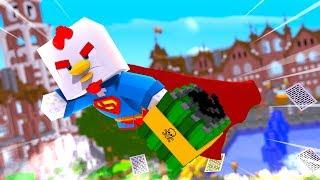 SUPER CHICKEN TALES #13   Nuke in the School! (Minecraft Movie)