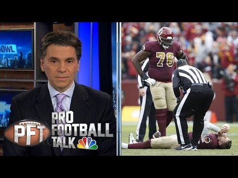 Redskins' Alex Smith suffers devastating leg injury | Pro Football Talk | NBC Sports