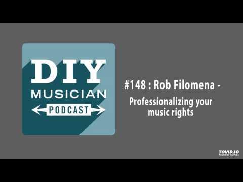 #148: Rob Filomena – Professionalizing your music rights