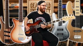 5 Great Basses Under $500!