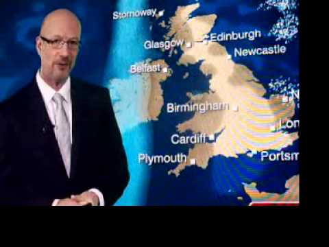 BBC weatherman says the F-word?