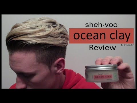Ocean Clay Review | sheh-voo Products | Mens' Hair