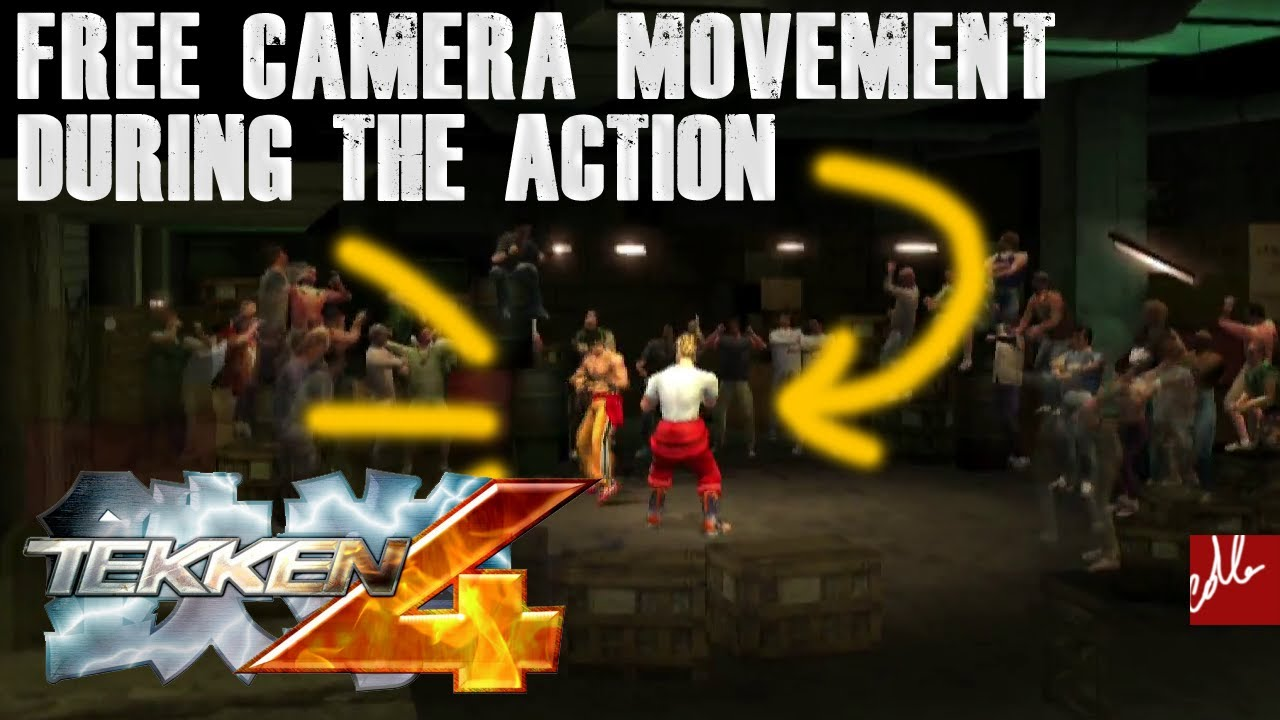 Free Camera Movement Action Replay Tekken 4 Ps2 2001 Youtube