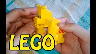 видео: Как сделать из ЛЕГО - СОБАКА. How to make LEGO DOG?