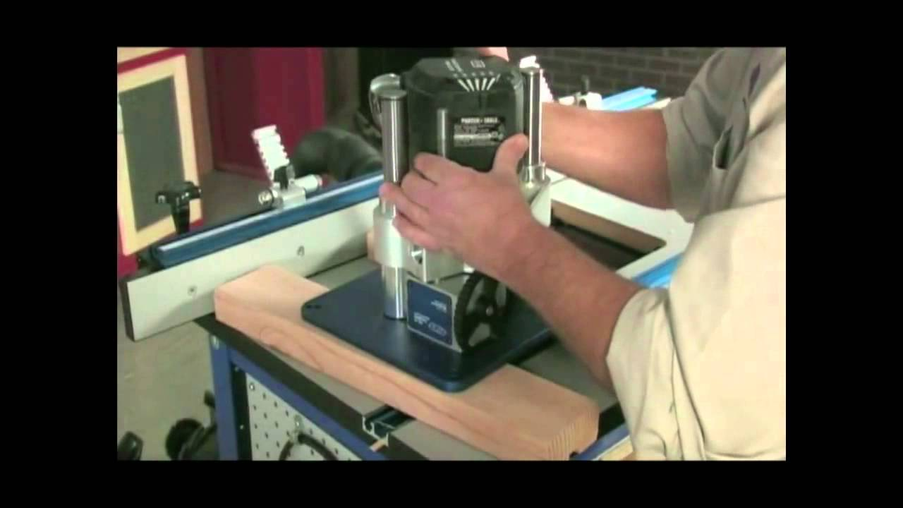 Prs3000 Kreg Precision Router Table Lift Youtube
