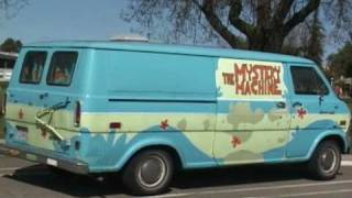 The Mystery Machine from Scooby-Doo in real life in Modesto, CA