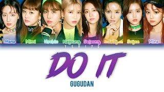 ................................................................................ artist: 구구단 (gugudan) song: do it album: 'act.5 new action' mini album membe...