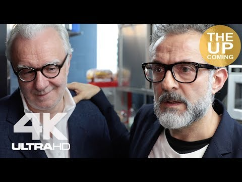 Massimo Bottura interview at Refettorio Felix's launch with Alain Ducasse