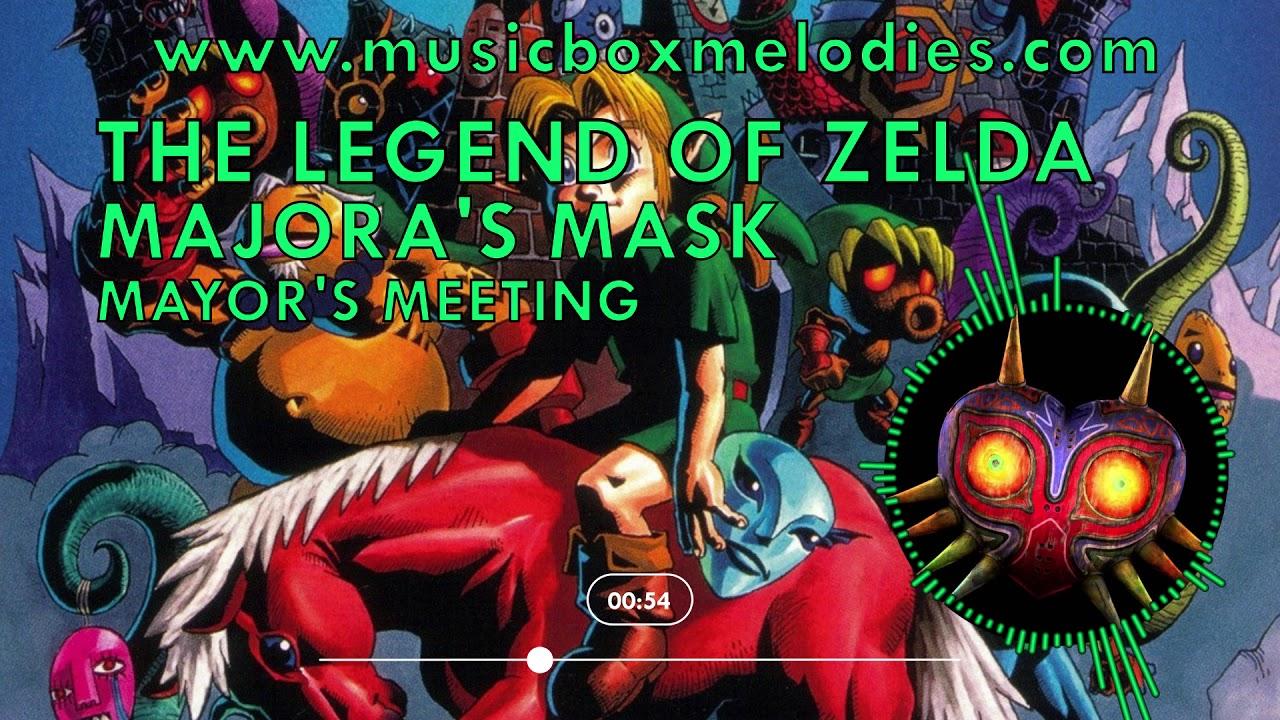 Mayor's Meeting (Music box version) by The Legend of Zelda Majora's Mask
