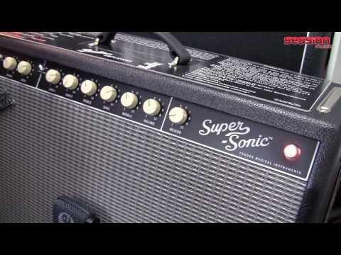 Fender Super Sonic 60 Combo Black