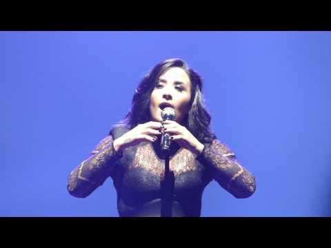 Nightingale / Warrior, Demi Lovato - Future Now Tour - Boston, MA (TD Garden)