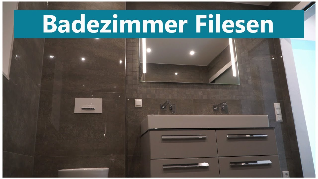 Badezimmer Fliesen Youtube