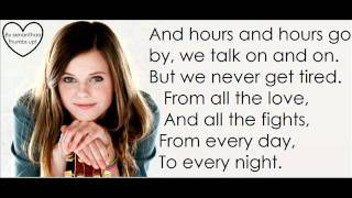 Tiffany Alvord - unforgettable lyrics