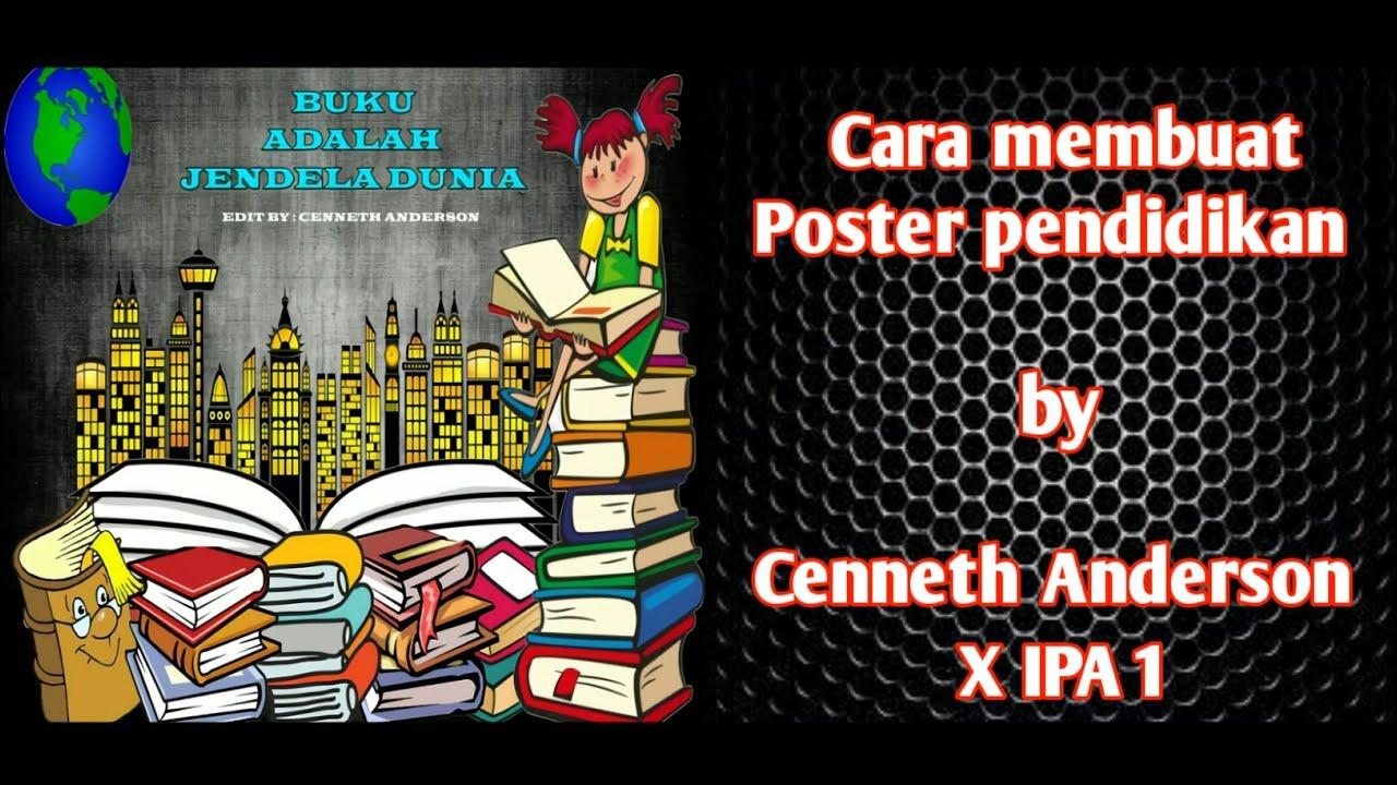 Cara Membuat Poster Bertema Pendidikan