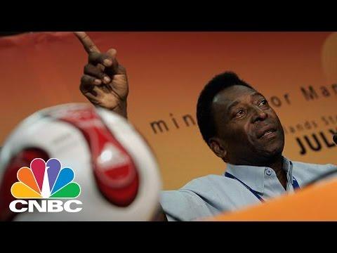 Soccer Legend Pele Sues Samsung For $30M: The Bottom Line   CNBC