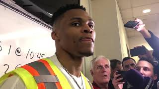 Thunder vs Rockets - Westbrook extends streak