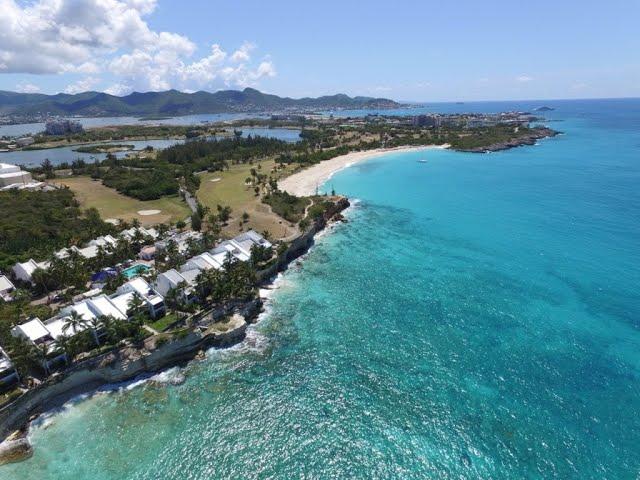 St Maarten Caribbean Real Estate 3BR Condo, Cupecoy Beach Club