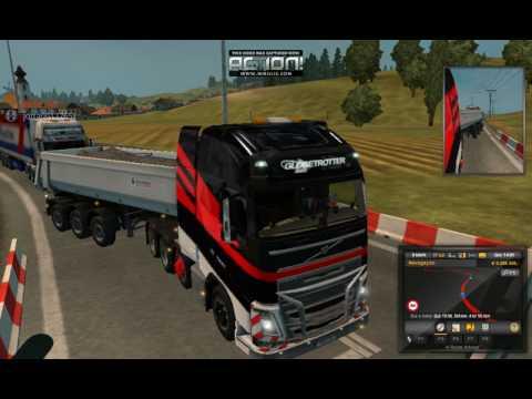 G.T Guaru Transportes- Carga De Liege Para Luxembourg (Comboio Com Amigos) Euro Truck Simulator 2
