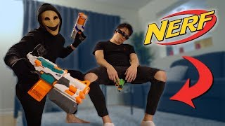 We Played NERF CHALLENGES at 3 AM & It Was A HUGE Mistake!! (NERF WAR)