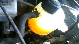 Замена антифриза на Renault Stepway(Замена антифриза на Renault Stepway (