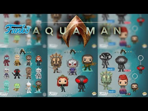 AQUAMAN  FUNKO  POP & +