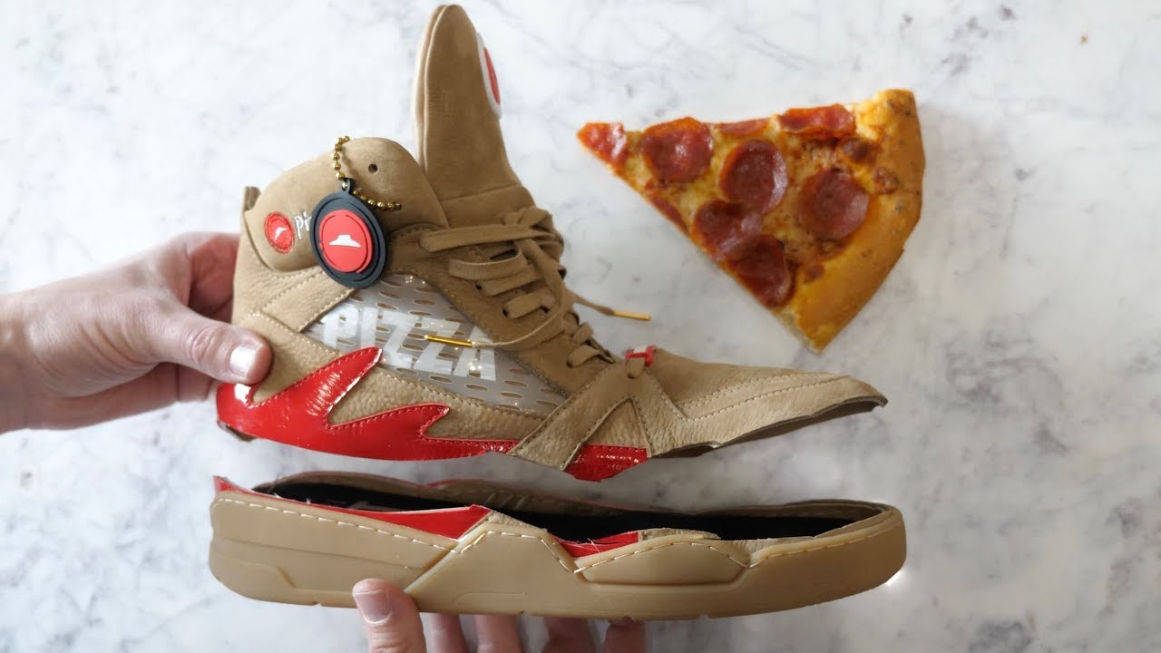 What's inside Pizza Ordering Shoes?