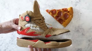What's inside Pizza Ordering Shoes? by : What's Inside?
