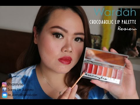 Review Wardah Lip Palette Chocoaholic
