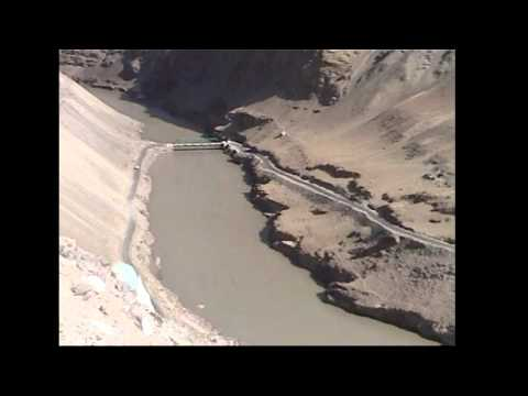 The Myth of Magnetic Hill and confluence of rivers Indus and Zanskar - Leh Ladakh
