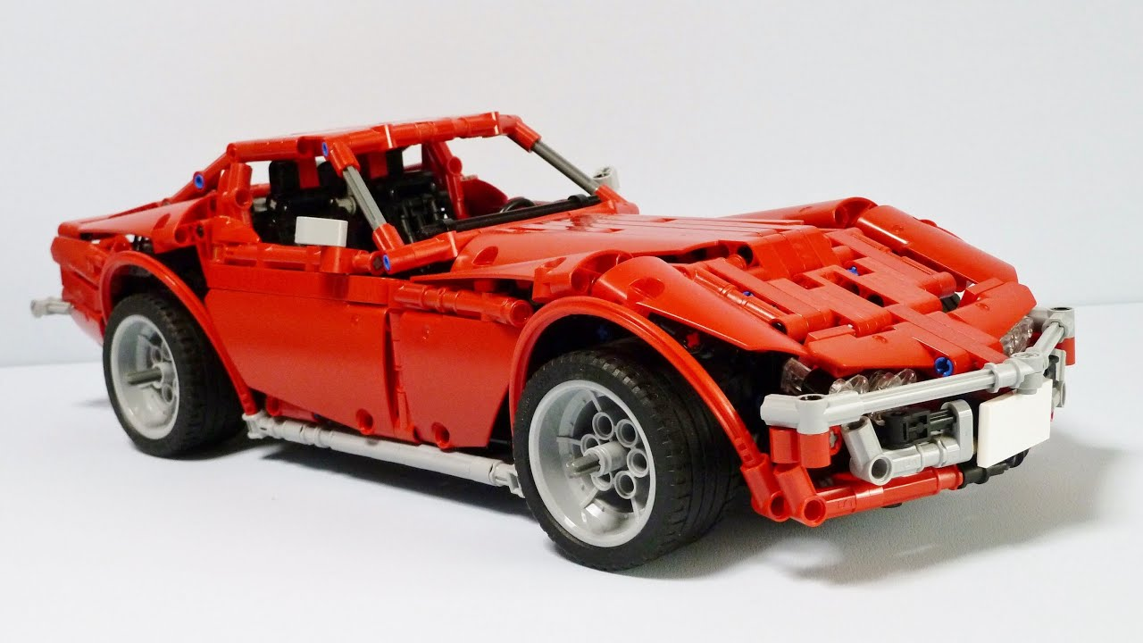 lego technic corvette c3 stingray youtube. Black Bedroom Furniture Sets. Home Design Ideas