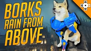 Overwatch Funny & Epic Moments 101 - BORKS RAIN FROM ABOVE - Highlights Montage thumbnail