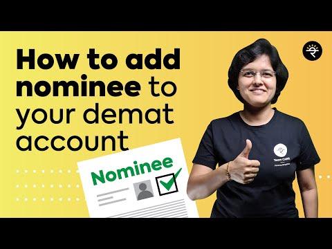 How to add Nominee to your Demat account | CA Rachana Ranade