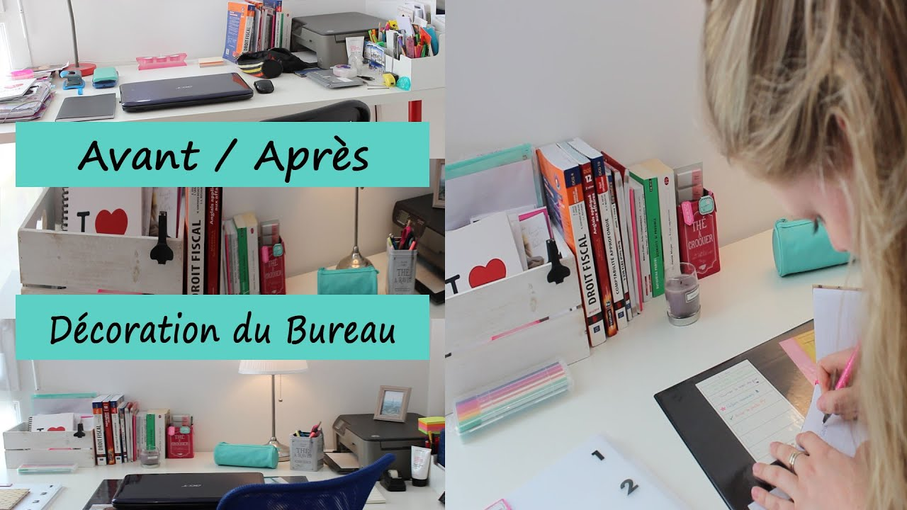 back to school rorganiser son bureau avec maison du monde haul de rentre hema youtube
