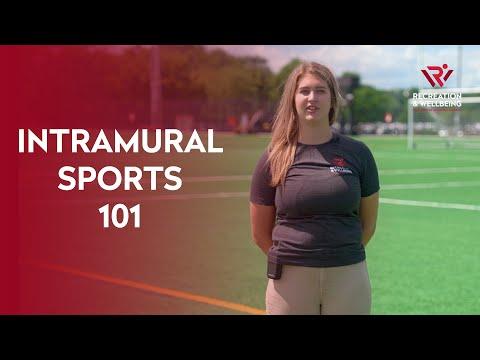 Intramural Sports: 101