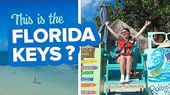 First time in the Florida Keys. We didn't expect this!  How to Travel the Florida Keys.