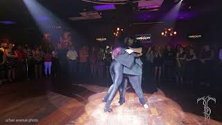 FEROCITY DANCE COMPANY  Bachata Dance Performance At THE SALSA ROOM