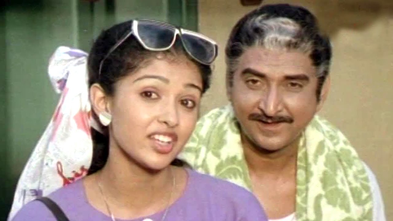 Gouthami, Y Vijaya Comedy Scene | Gollapudi Maruthi Rao | Comedy ... for Y Vijaya Daughter  111bof