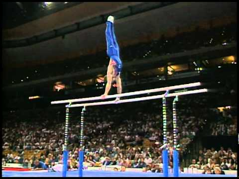Blaine Wilson - Parallel Bars - 1996 Olympic Trials - Men - Day 2